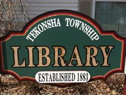 Tekonsha Township Library Logo